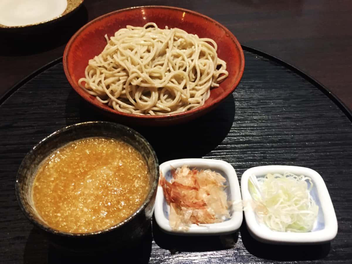 東京 飯田橋 九頭龍蕎麦 薬味
