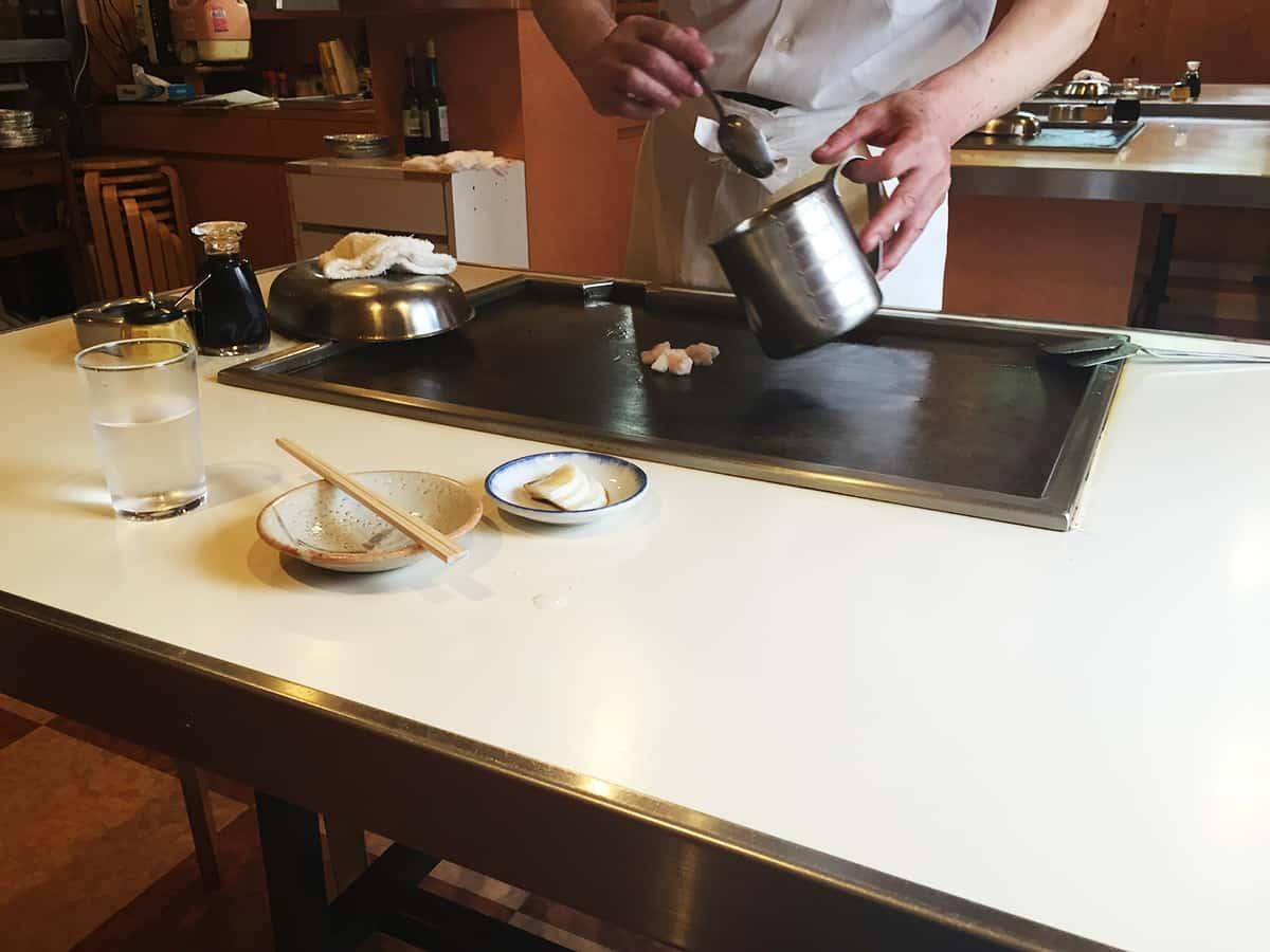 東京 池尻大橋 ステーキハウス鉄板焼 不二 野菜