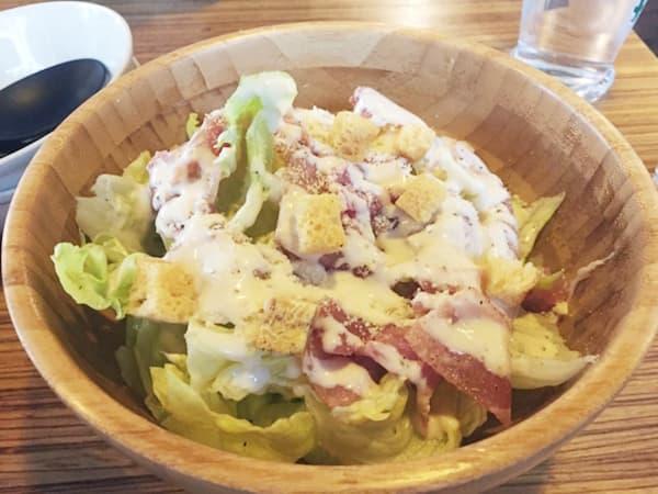 東京 練馬 ブッチャーズテーブル 生ハムのシーザーサラダ