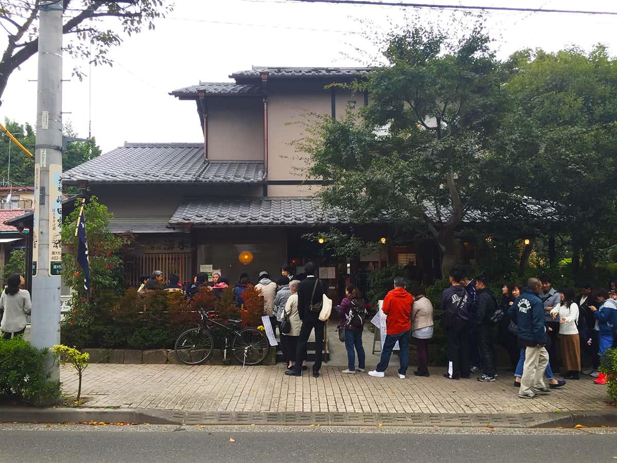 東京 調布市 湧水 そば打ち風景