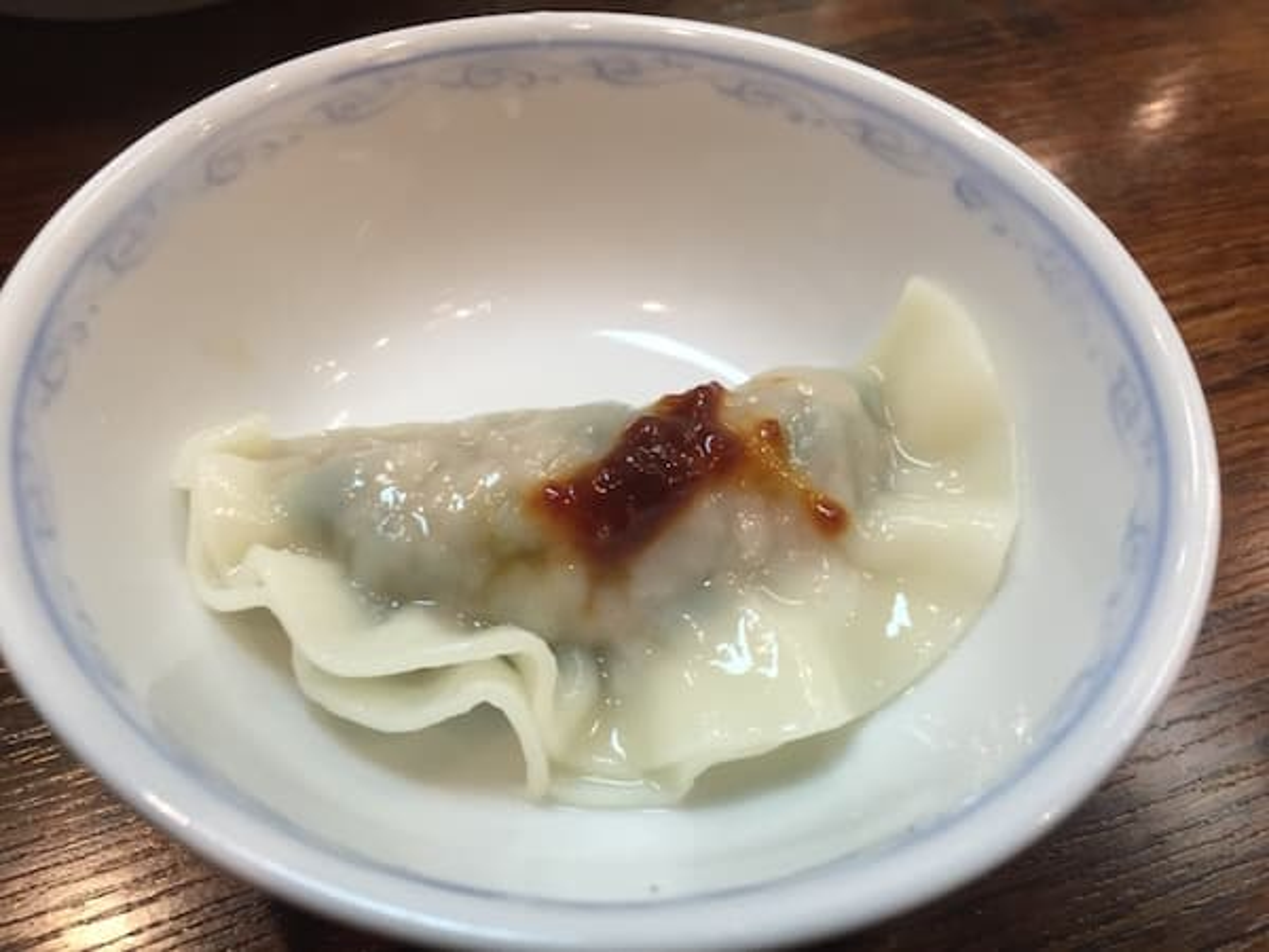 兵庫県 元町 民生 廣東料理店 水餃子