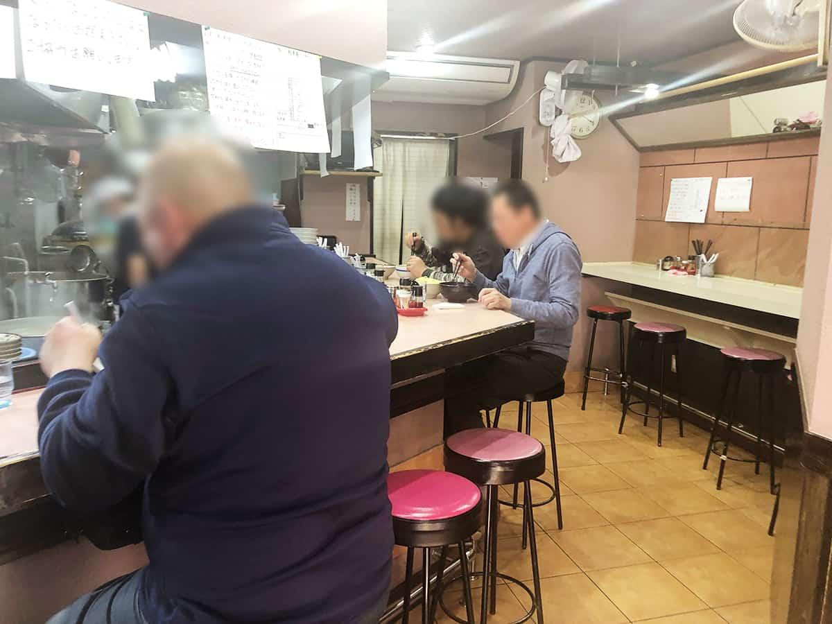 埼玉 新所沢 大勝軒 店内