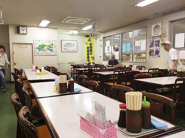 神奈川 小田原 魚市場食堂|店内