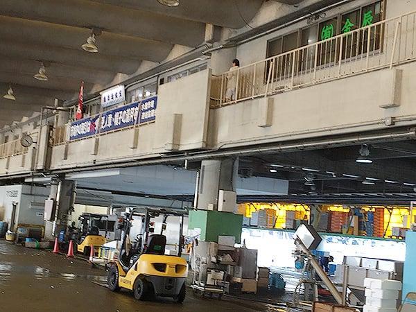 神奈川 小田原 魚市場食堂|場内