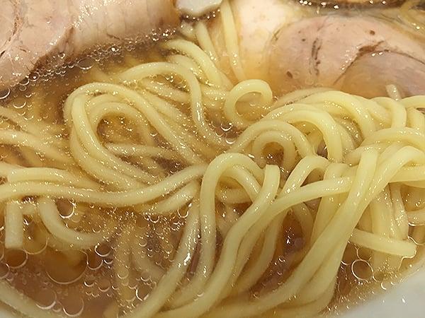 東京 阿佐ヶ谷 らーめん いろはや 麺