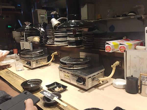 東京 荻窪 藤栗ホルモン 店内