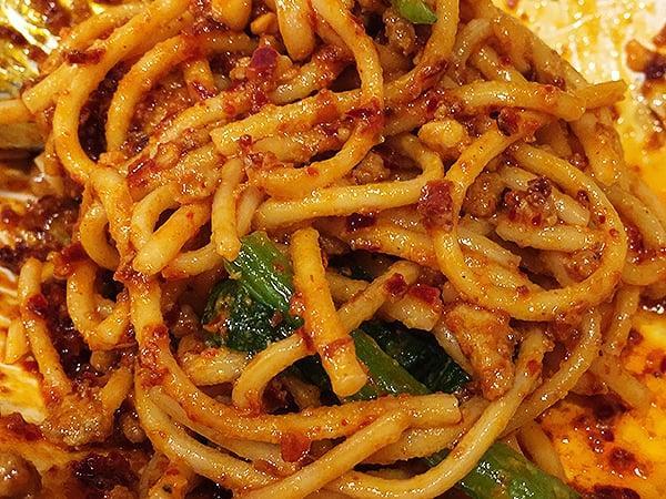 東京 池袋 中国家庭料理 楊 別館|汁なし担々麺