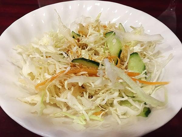 東京 池袋 中国家庭料理 楊 別館|サラダ