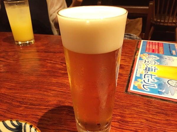 東京 浅草 ぬちぐすい|オリオン生ビール