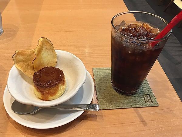 埼玉 川越 Kura Cafe(クラ カフェ)|さつま芋プリン・コーヒーセット