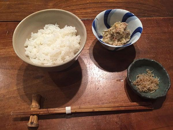 東京 西国分寺 潮|ご飯とおかず