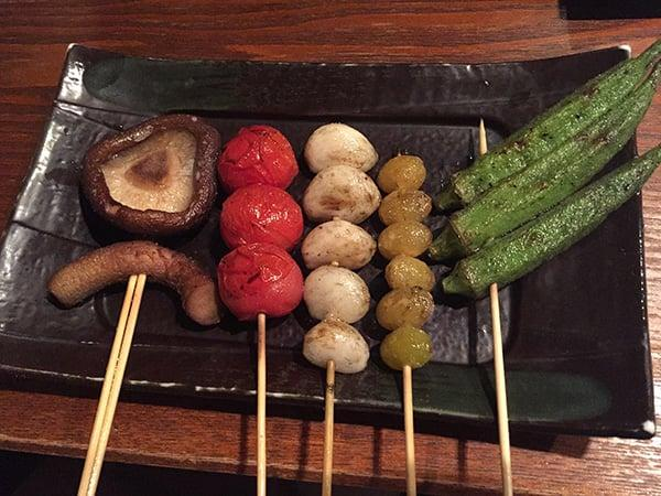 東京 荻窪 神鶏 荻窪店|焼き野菜盛り合わせ