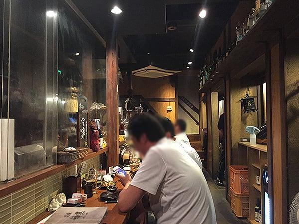 東京 荻窪 神鶏 荻窪店|店内