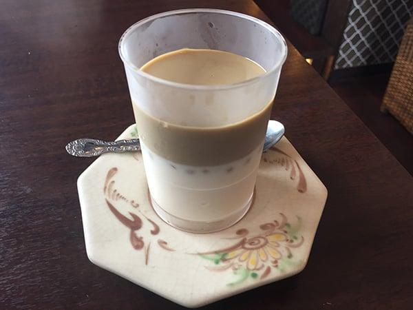 東京 花小金井 杏's cafe ミルクティー杏仁豆腐