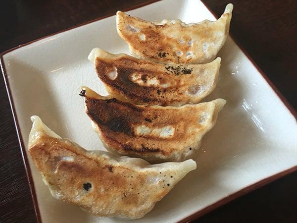 東京 花小金井 杏's cafe|味付き焼き餃子