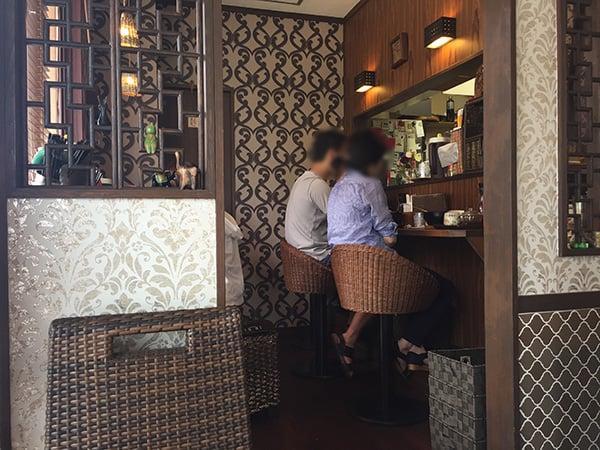 東京 花小金井 杏's cafe|店内