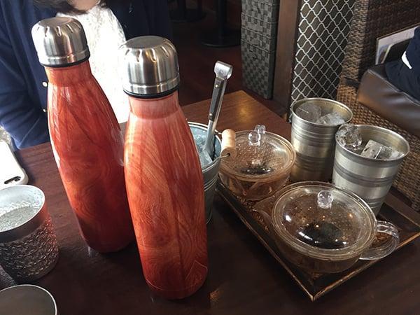 東京 花小金井 杏's cafe|お茶のセット