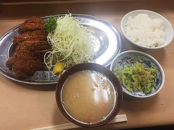 東京 大井町 丸八とんかつ 本店|並カツ定食