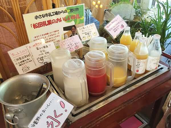 長野 安曇野 ホテル アンビエント安曇野 朝食ビュッフェ
