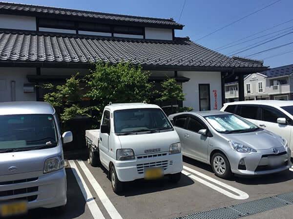 長野 諏訪 鰻 小林|駐車場