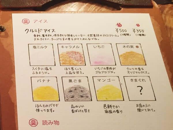 東京 西国分寺 クルミドコーヒー アイスクリーム