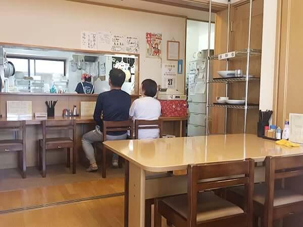 東京 小平 手打ちうどん 福助|店内