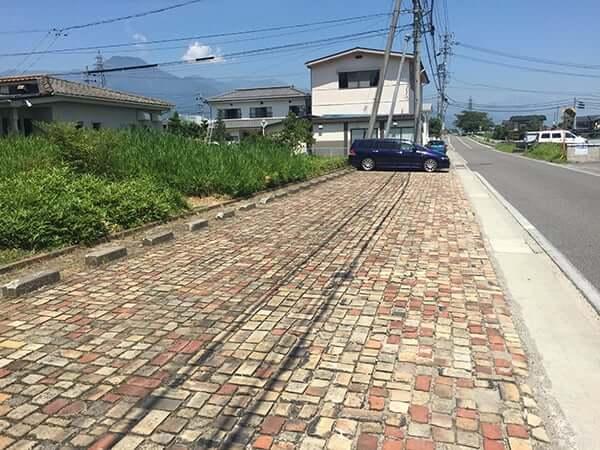 長野 安曇野 上條|駐車場