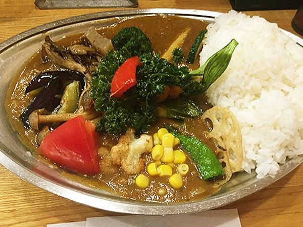東京 武蔵小金井 カレーの店プーさん|野菜カレー