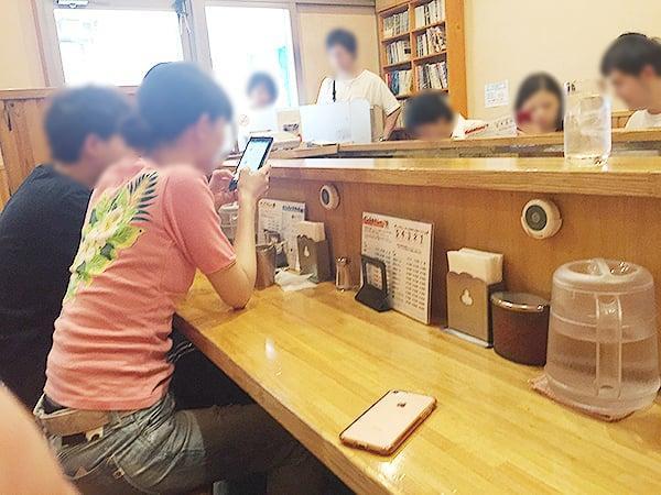 東京 武蔵小金井 カレーの店プーさん 店内