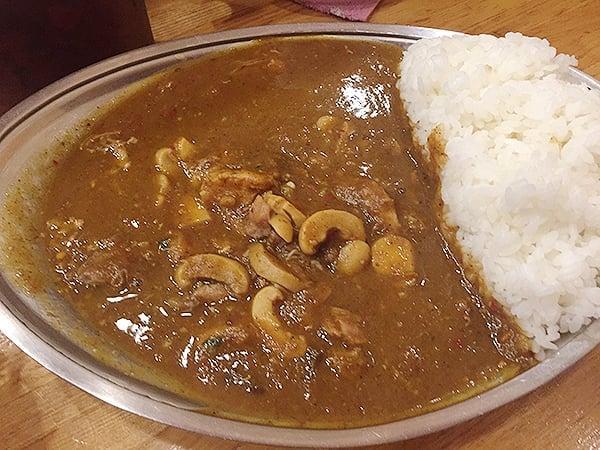 東京 武蔵小金井 カレーの店プーさん チキンカレー