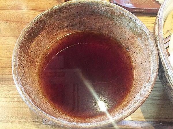 東京 恵比寿 うどん山長 つけ汁