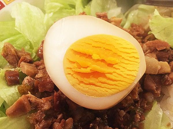 東京 西新宿 山珍居 煮玉子