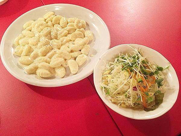 とろける4種チーズのニョッキ 東京 有楽町 ラ・ベルデ 有楽町店