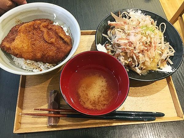 東京 有楽町 食の國 福井館 まん福セット