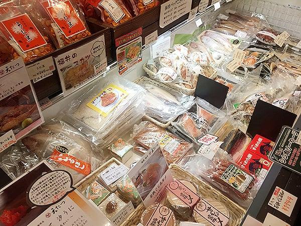 東京 有楽町 食の國 福井館 店内のようす