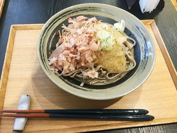 東京 有楽町 食の國 福井館 越前おろし蕎麦