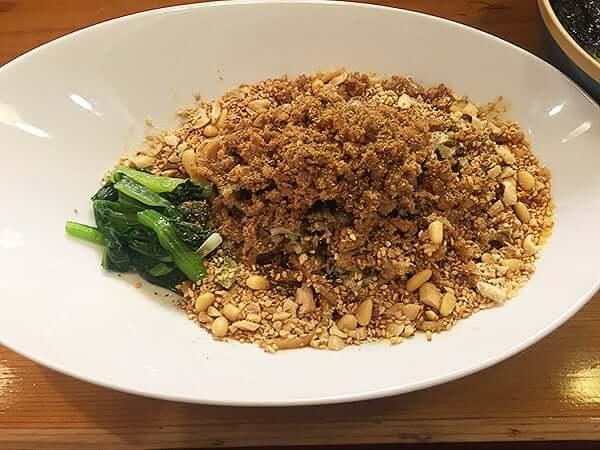 東京 九段 雲林坊 九段店|汁なし担々麺