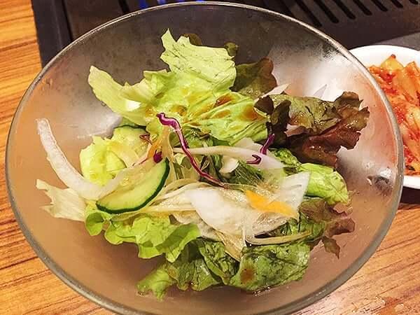 東京 上野 上野太昌園 上野本店|サラダ