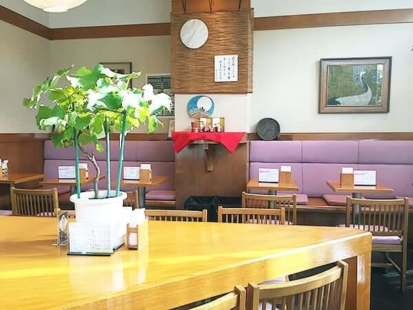東京 上野 つる瀬 湯島本店|喫茶室