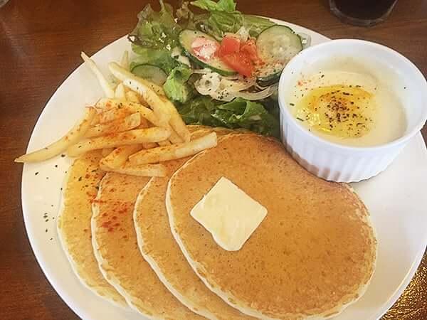 埼玉 川越 カフェ マチルダ|濃厚チーズフォンデュパンケーキ