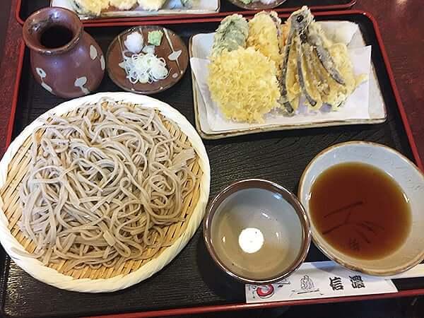 東京 高円寺 信濃|野菜天ざるそば