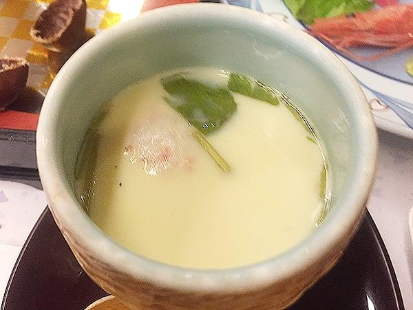 愛知 蒲郡 天空海遊の宿 末広|茶碗蒸し