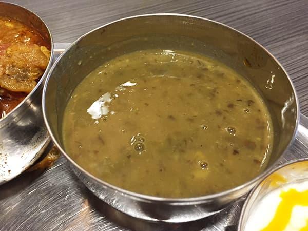 東京 新大久保 格料理店 ネパール民族料理 アーガン|豆カレー