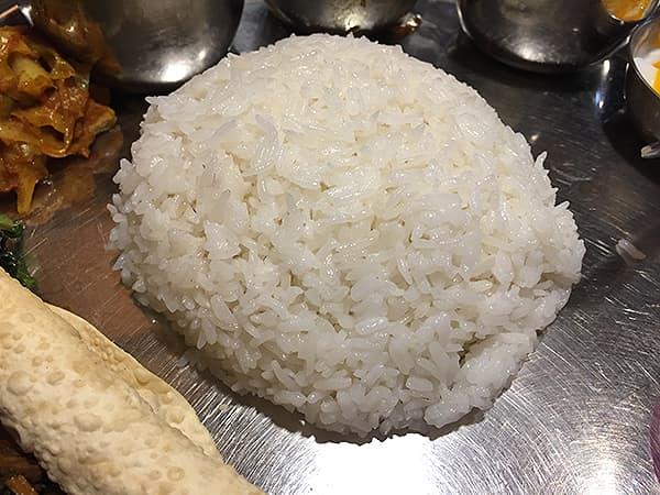 東京 新大久保 格料理店 ネパール民族料理 アーガン|ライス