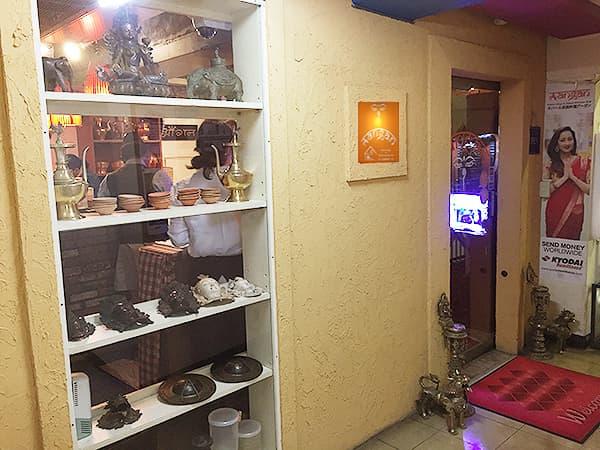 東京 新大久保 格料理店 ネパール民族料理 アーガン 外観