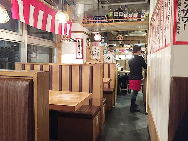 東京 恵比寿 博多うどん酒場イチカバチカ 恵比寿店|店内2