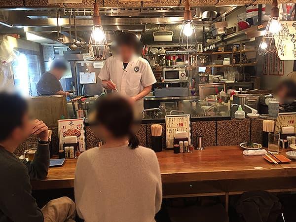 東京 恵比寿 博多うどん酒場イチカバチカ 恵比寿店|店内