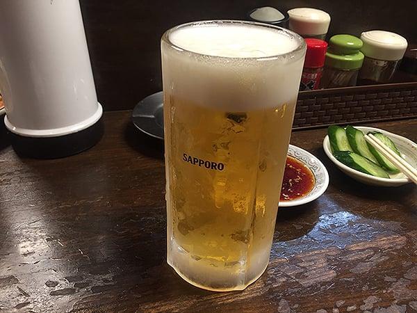 静岡 沼津 豊亭|生ビール