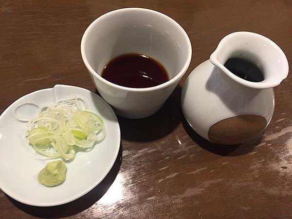 東京 日暮里 とお山 蕎麦つゆ