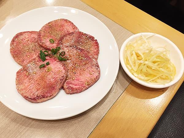 東京 錦糸町 焼肉 三千里 本店|上タン塩